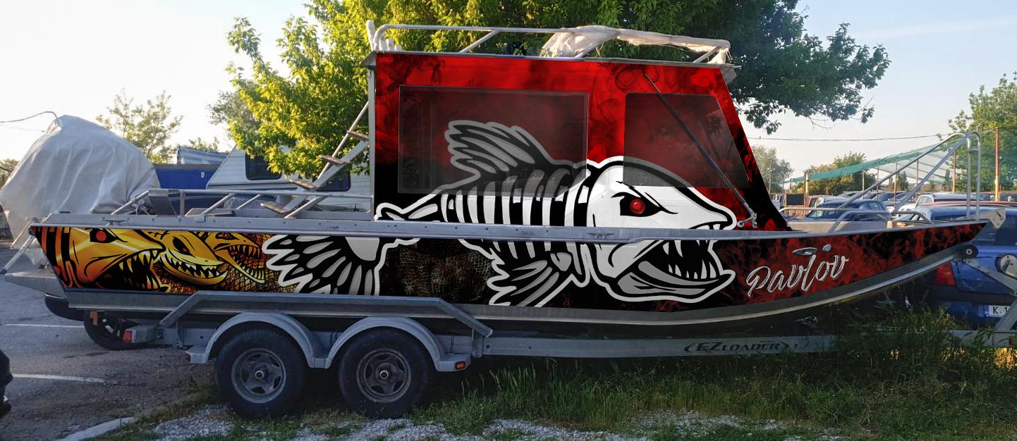 Новия дизайн на лодката